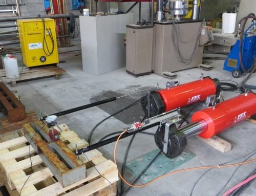 Production of high tonnage construction hydraulic cylinders for heavy lifting