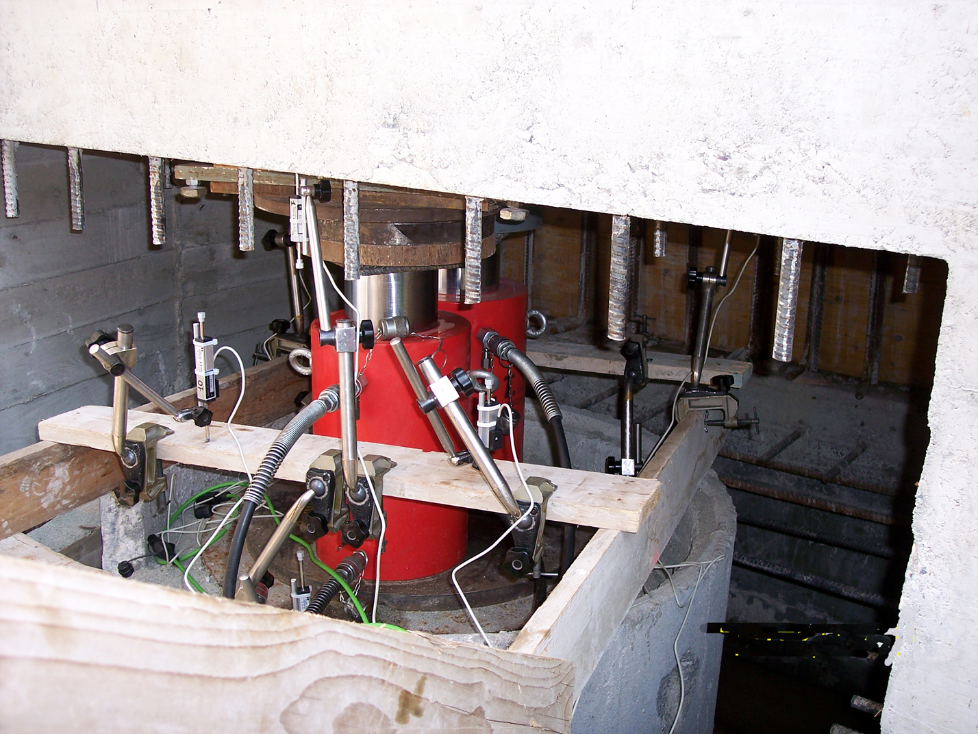 Hydraulic Cylinder Pile Static Load Test