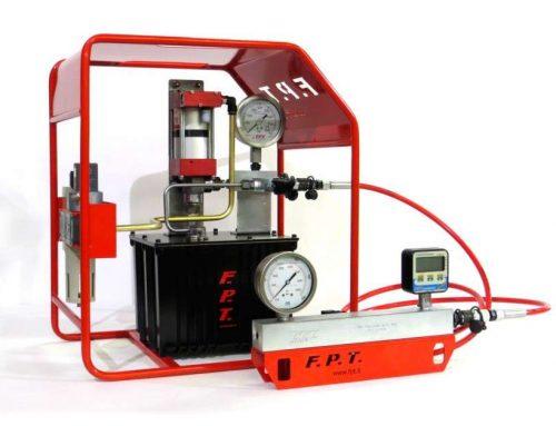 PT system for gauges calibration