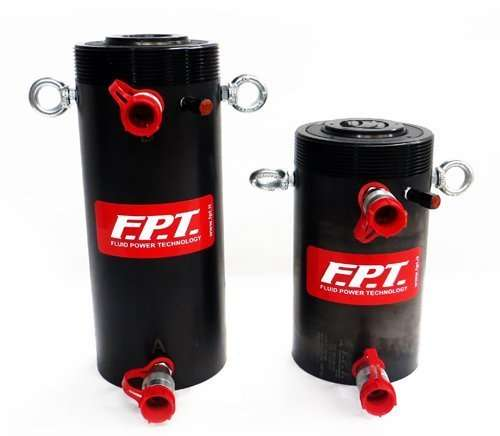 High tonnage compact cylinders with oil return