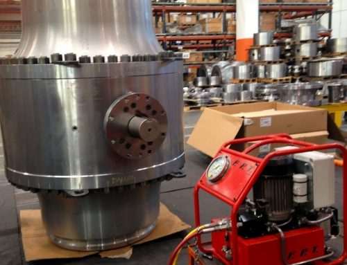 FPT Hydraulic pumps for big valve bolt tightening in the energy sector