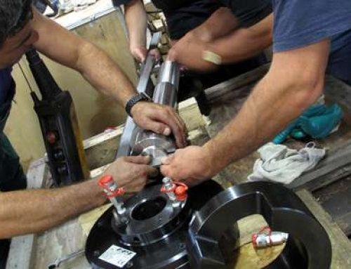 Tensionatori idraulici speciali e prove di tensionamento