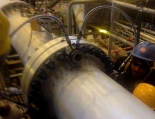 Tensionatori idraulici per il serraggio delle flange delle pipeline