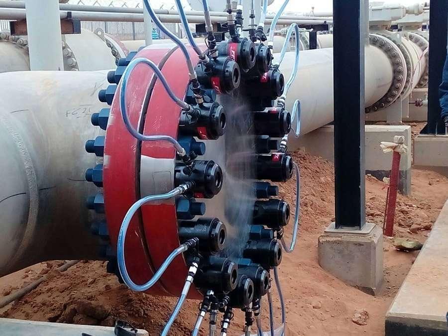 tensionatori idraulici serraggio