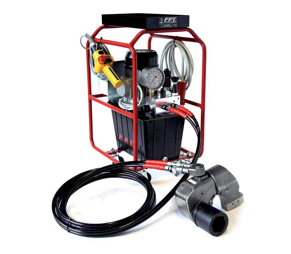 hydraulic torque wrench pumps