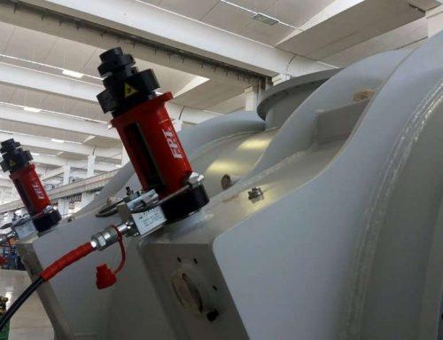 Sistemi di sollevamento e posizionamento idraulico