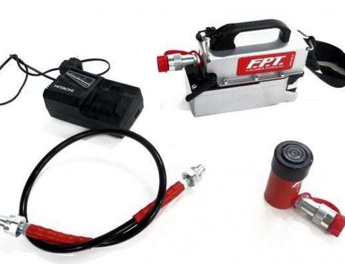 Pompe idrauliche a batteria 700 bar