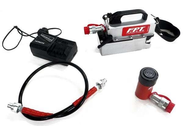 pompe idrauliche a batteria