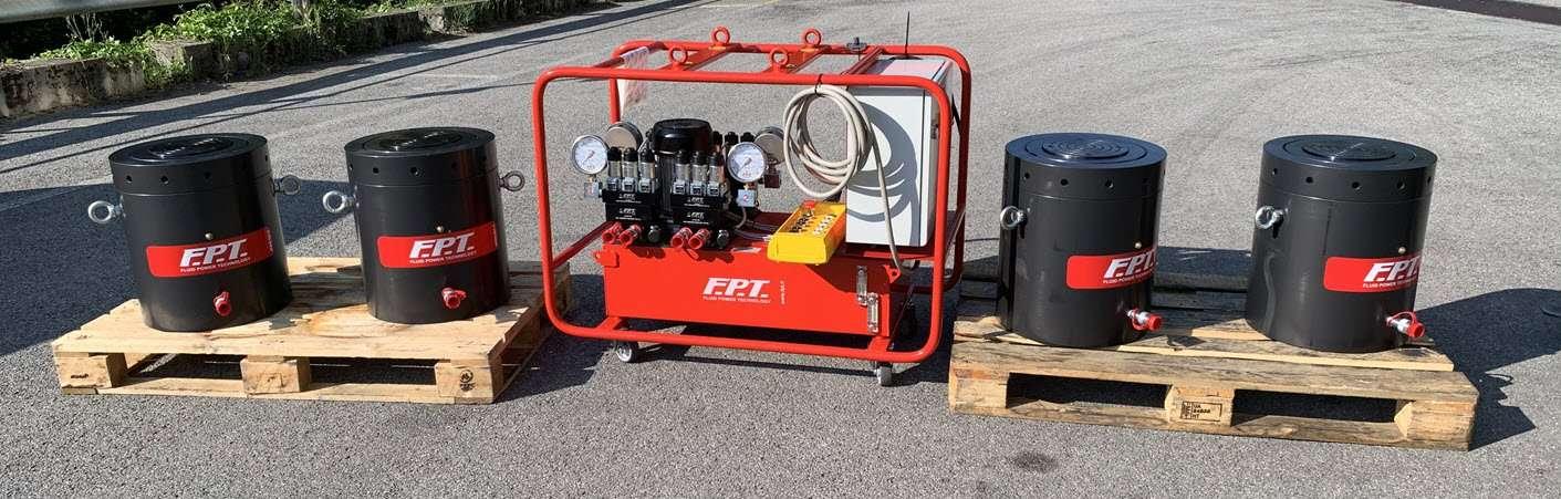 heavy lifting hydraulic cylinders