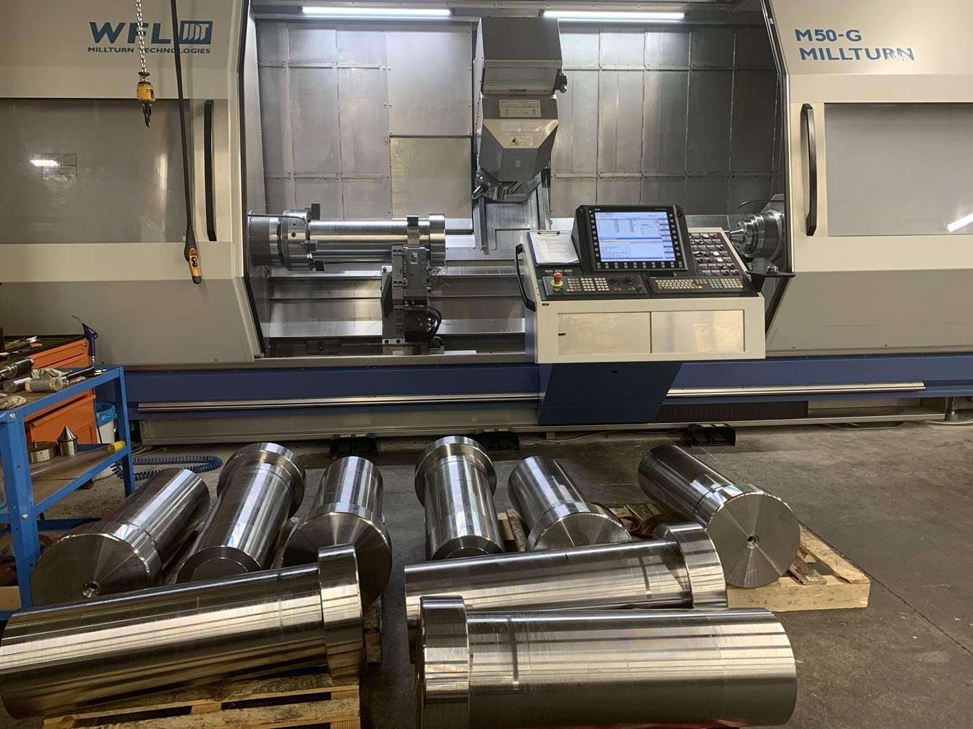 production of hydraulic cylinder