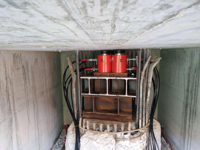 Pile Load Testing Hydraulic jack
