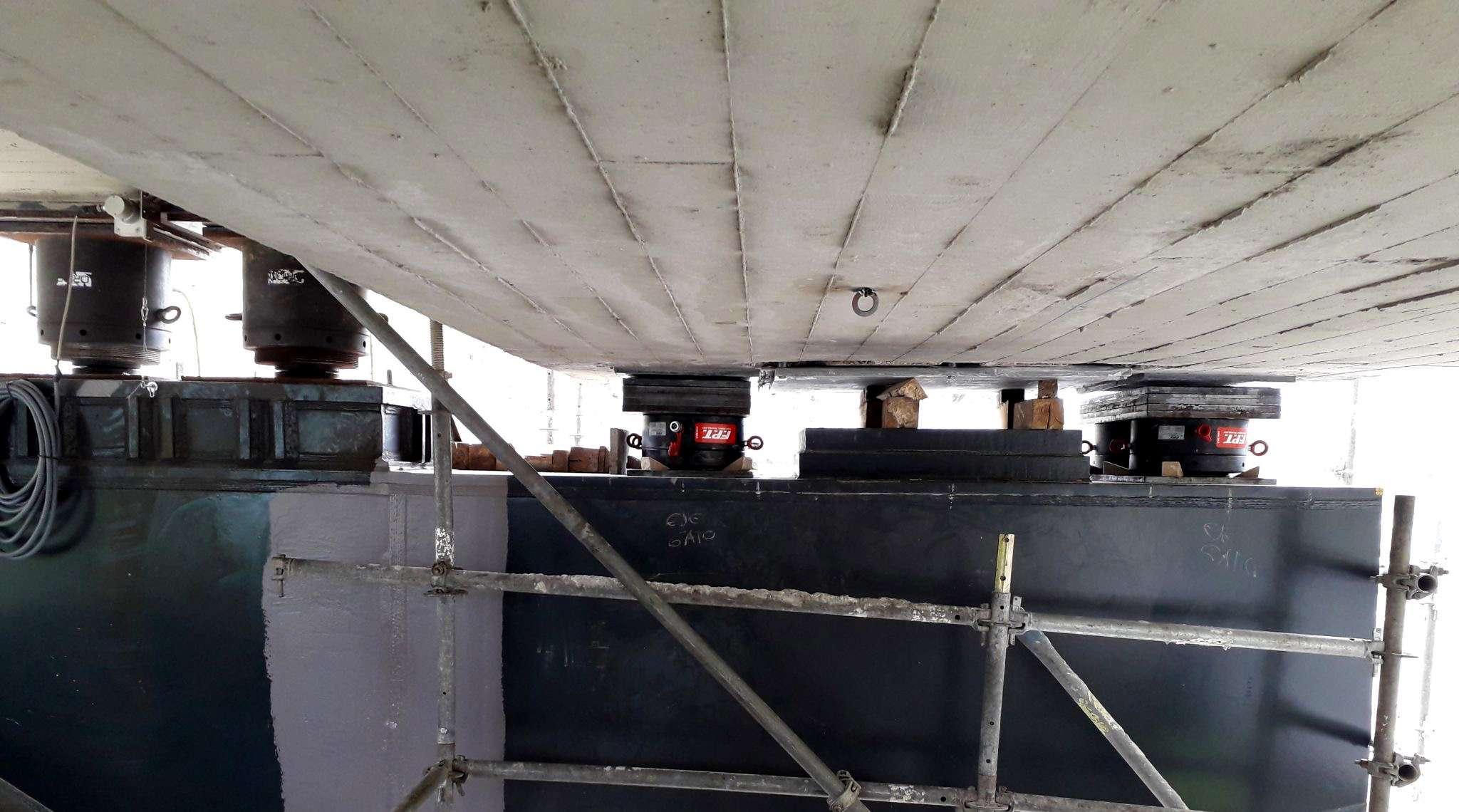 Cilindri idraulici con altezza ridotta e ghiera di sicurezza